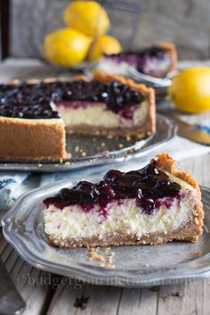 #LemonBlueberryCheesecake - Ingredients      Crust     1 - 12 oz bag Coconut Cocadas     1/2 cup shredded coconut     1/2 cup butter, melted     Filling     12 oz cream cheese, softened     2 - 6 oz containers of vanilla greek yogurt     1 cup granulated sugar     4 large eggs     1 teaspoon lemon zest, etc........