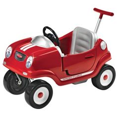 Radio flyer coupe $89.99 - Target (got this for our first son and the youngest is still showing it love, there's just something about little boys and their cars, especially the ones they can climb in and out of)