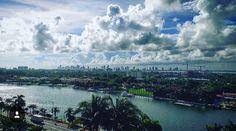 Don't you just love the unique Miami Skies?! Photo by Nico Aspee #GrandBeachMiami #BayfrontSuite #SoMiami