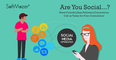 Social Media Marketing is the process of gaining website traffic. So, Are You Social? Contact us @ 0124-4372118 / 119. We're a SocialMediaMarketing and Management company based in Delhi and Kolkata.