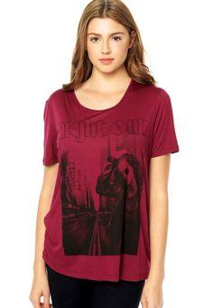 Camiseta Colcci Roxa - Compre Agora | Dafiti Brasil