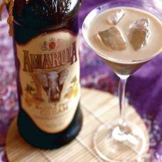 If you haven't had Amurula you are missing out! This looks delicious! Summer Drinks, Cocktail Drinks, Alcoholic Drinks, Cocktails, Amarula Drink, Homemade Liquor, Smoothie Drinks, Mixed Drinks, Love Food