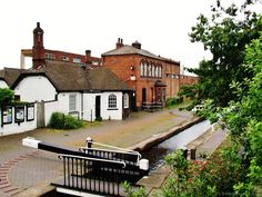 Lock-keepers cottage. Walsall, England. Click the picture to see more pictures