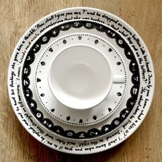 Peter Pan inspired tableware. Made by Mietta Várszegi.  You can order by clicking on the picture.