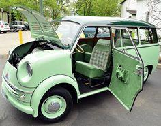 1958 Lloyd LT600 mini bus by scott597, via Flickr