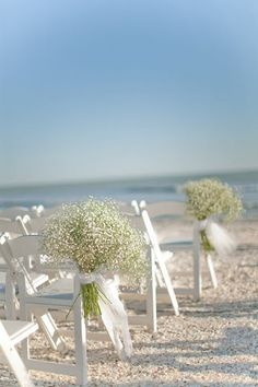 baby's breath for aisle?