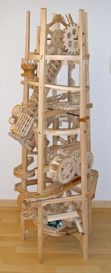Seven amazing marble machines by Paul Grundbacher - I find these amazing, even as an adult