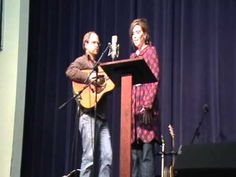 "Alison Krauss singing ""Near the Cross"" with Ron Block"