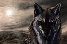 free high resolution wallpaper wolf art, 722 kB - Eldon Leapman