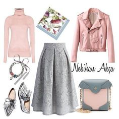 Designer Clothes, Shoes & Bags for Women Casual Hijab Outfit, Hijab Chic, Elegant Outfit, Modest Outfits, Classy Outfits, Chic Outfits, Modesty Fashion, Muslim Fashion, Arab Fashion