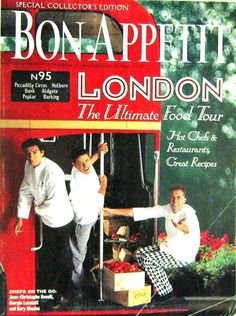 Buy any 3 magazines and get 20% off. Bon Appetit, London The Ultimate Food Tour, May 1998 Volume 43 Number 5