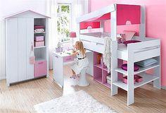 Parisot Bett »Biotiful« für 479,99€. Parisot Bett, »Biotiful«, in weiß-braun oder weiß-rosa, Liegefläche 90/200 cm bei OTTO