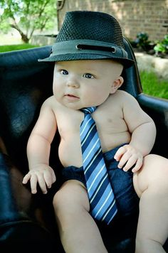 So cute! Just imagine...you will have one of your own baby boys soon! :)