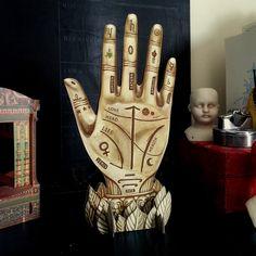 Palmistry Art - Palm Reading Hand on Behance