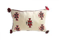 coussin ethnique kilim vintage