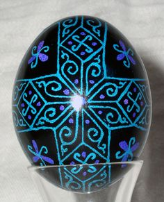 Jen's Pysanky | This egg was created for Peter and Helen Min… | Flickr