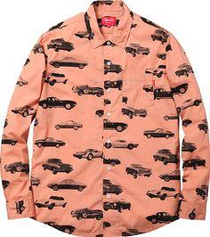Supreme's printed cars shirt  http://www.creativeboysclub.com/