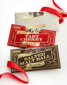 Williams Sonoma Holidays Bark Packaging Designed By Cult Partners