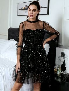 Cute Prom Dresses, Grad Dresses, Simple Dresses, Pretty Dresses, Evening Dresses, Formal Dresses, Mesh Dress, Dress P, Party Dress