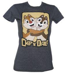 Ladies Chip N Dale T-Shirt : TruffleShuffle.com
