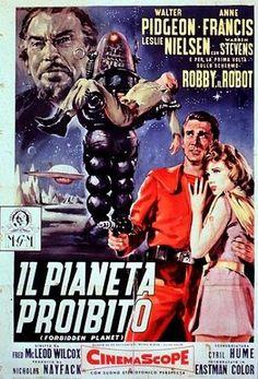 Il pianeta proibito (Forbidden Planet) è un classico del cinema di fantascienza del 1956, diretto da Fred McLeod Wilcox e prodotto dalla MGM