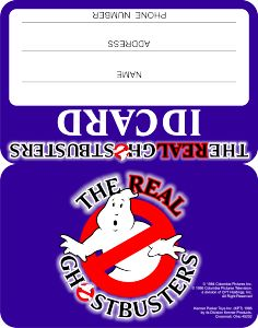 Kenner The Real Ghostbusters ID Card Ghostbusters Birthday Party, Ghostbusters Party, The Real Ghostbusters, 5th Birthday Party Ideas, Birthday Box, Ghost Busters, Book Cover Art, Party Printables, Free Printable