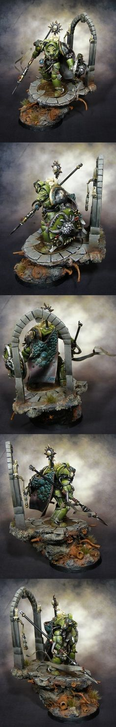 CoolMiniOrNot - Salamanders 'Guardian of the Forge' Aus GD2011 by Delmieth