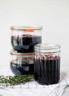 Blueberry Thyme Lemon Jam