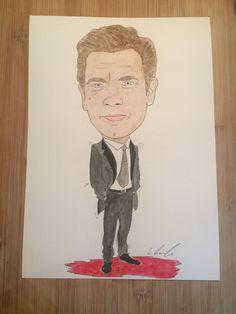 Ewan McGregor drawn by Liam Tunnah