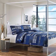 Eddie Bauer Eastmont Cotton Reversible 3-piece Quilt Set | Overstock.com Shopping - Great Deals on Eddie Bauer Quilts