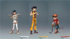 Movie Character Design Illustrations