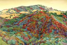 Paintings of Mount Diablo and California Hills - robin purcell - Álbumes web de Picasa