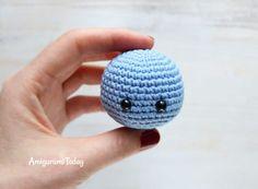 Cuddle Me Hippo amigurumi pattern - head