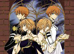 Tsubasa Reservoire Chronicles by CLAMP - Sakura and Syoaran, & Cardcaptor Sakura by CLAMP - Sakura Kinomoto and Syaoran Li