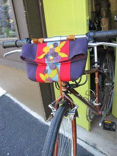 Small Bike Handlebar Bag bicycle basket