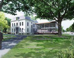 Ontwerp nieuwe gemeentehuis te Brummen van Thomas Rau Architecten