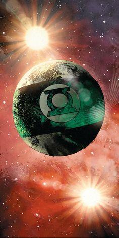 Green Lantern Mogo by Chriscross