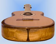 micheletti guitars   Rigid Rim #1: An unusual guitar for a great client