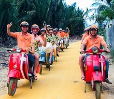Looking for adventure, but still want be able to have a beer or two on the way? The Vespa drivers will ensure for your safe trip Hoi An, Dream Come True, Hens, Vespa, Big Day, Dreaming Of You, Our Wedding, Adventure, Hornet