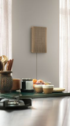 Portable House, Home Speakers, Bang And Olufsen, Dynamic Design, Frame Crafts, Modular Design, Wall Brackets, Grey And Gold, Light Oak