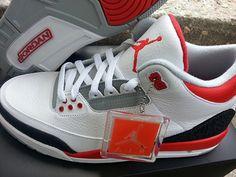 #AirJordan III Fire Red 2013