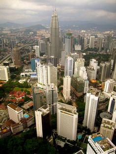 View from KL Tower - Kuala Lampur, Malaysia