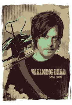 Walking Dead Rick Grimes-Michonne-Daryl Dixon par 2ToastDesign