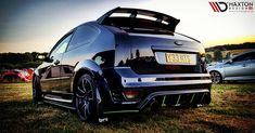 ST-ill looking for the perfect car styling parts? 🤔 Look no further, Maxton has your car covered. Matt rocking our side skirt diffusers, rear valance and rear side splitters on his Focus ST Ford Focus Hatchback, Vw Gol, Ford Rs, Tuner Cars, Car Photography, Luxury Cars, Antique Cars, Automobile, Saints