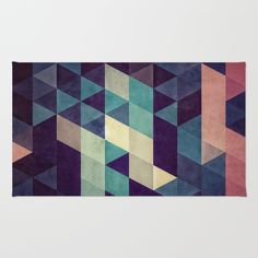 Using 100% woven polyester, these premium quality area rugs boast an exceptionally soft touch and high durability. Available in three versatile sizes (2' x 3', 3' x 5', 4' x 6') they are the perfect accent to any room in your home, featuring thousands of designs from your favorite artists on a subtle chevron pattern. Machine washable; non-skid pad not included.