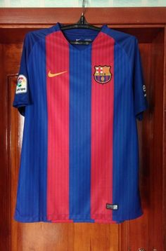 41bffe79 Barcelona 2016 - 2017 home football soccer shirt jersey Nike size L  #fashion #clothing