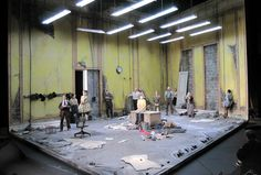 Three Sisters. Scenic design by Scott Pask.