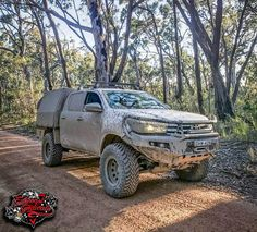 Have a squiz at this Hilux credit to Mat Looking tough as brother - Appreciate you being part of the Syndicate! Toyota 4x4, Toyota Trucks, Toyota Hilux, Toyota Tacoma, Pickup Trucks, Hilux Mods, Hilux 2016, Ford Ranger Raptor, Motorhome Interior