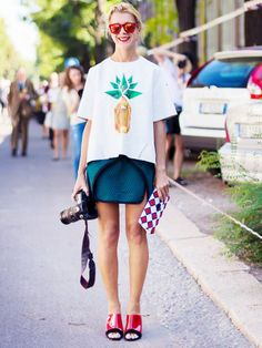Why Sunglasses Are THE Ultimate Street Style Accessory via @WhoWhatWear
