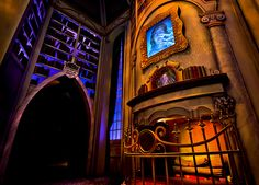 Be Our Guest restaurant. Magic Kingdom